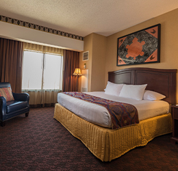 Cherokee Hotel West Siloam Springs Double Queen Room